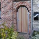 poortje met cederhout