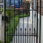 gepoederlakt poortje