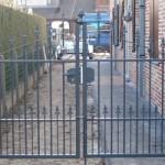 gepoederlakt hek