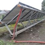 constructie voor zonnepanelen