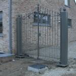 gerestaureerd hek